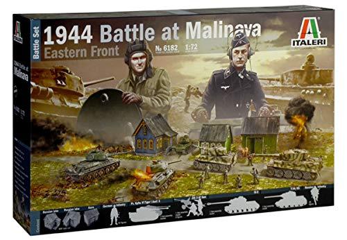 ITALERI 6182S - 1:72 1944 Battle at Malinava , Modellbau, Bausatz, Standmodellbau, Basteln, Hobby, Kleben, Plastikbausatz, detailgetreu