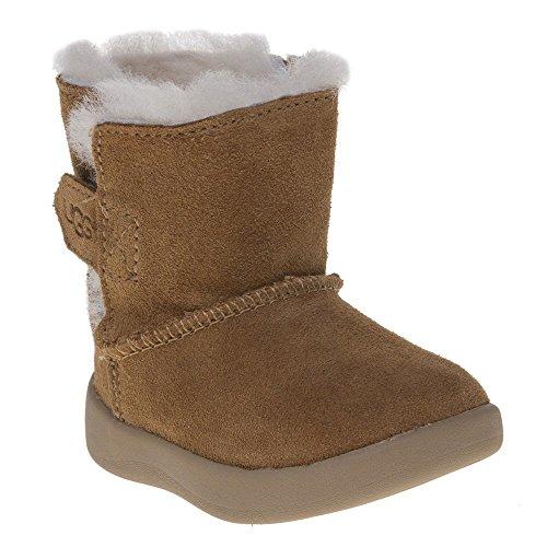 UGG® Keelan Leather Kinder Stiefel Beige (Ugg Baby-mädchen-boots)