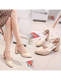 SHOESHAOGE La Ragazza Sandali High-Heel Calzature Donna Pan Di Spagna Di Spessore Impermeabile Scarpe Taiwan Roma ,Eu35