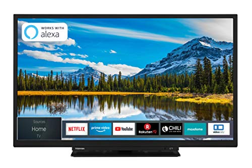 Toshiba 32W3869DAX 32 Zoll Fernseher (HD ready, Smart TV, Triple-Tuner, Prime Video, Bluetooth) -