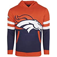 Denver Broncos NFL Ugly Sweater Big Logo Strick Hoody