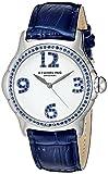 Stührling Original 592.01 - Reloj analógico para Mujer, Correa de Cuero, Color Azul