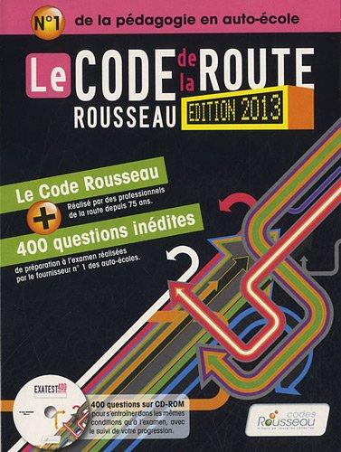 Code Rousseau de la route B 2013 par Codes Rousseau