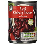 Morrisons Red Kidney Beans in Chilli Sauce, 405g