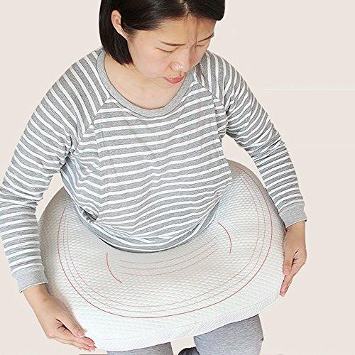 LJHA Oreillers d'allaitement Oreiller Oreiller Taille Oreiller Femmes Enceintes Oreiller Corps 65 * 55cm Oreillers d'allaitement