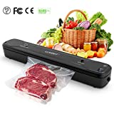 Llivekit Vacuum Sealer, Automatic/Manual Food Sealer, One-Touch Vacuum Sealing System, Dry/Wet Vacuum Packing