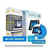 Microsoft� Windows 10 Professional (PRO) + Driverrepair & Bootup f�r Windows. Original-Lizenz. 32 bit & 64 bit. Deutsch+ML. Audit Sicher, S2-ISO DVD, CLP Zertifikat Bild