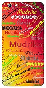 Mudrika (ring) Name & Sign Printed All over customize & Personalized!! Protective back cover for your Smart Phone : Moto G-4-Plus