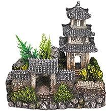 nobby asitico templo acuario adornos