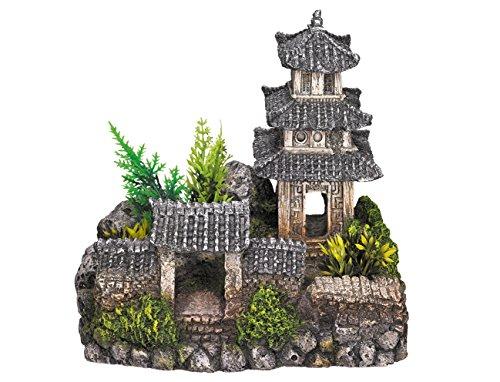Nobby - Décoration pour aquarium - Avec plantes -...
