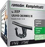 Rameder Komplettsatz, Anhängerkupplung starr + 13pol Elektrik für Jeep Grand Cherokee III (122056-05438-2)