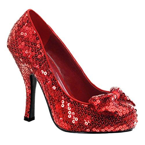 Funtasma Dorothy´s Heels Oz-06 rot Gr. (Dorothy Glitzer Rote Schuhe)