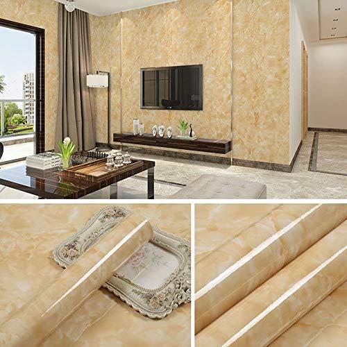 lsaiyy Imitation Marmor Muster Aufkleber wasserdicht Selbstklebende Tapete Küche Öl Beweis Tapete-60CMX5M (Buddha Pfeife)
