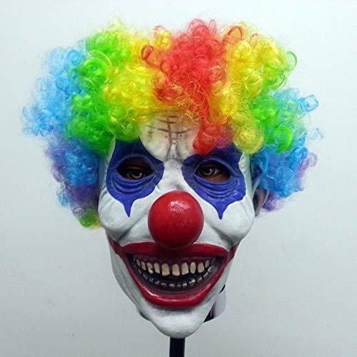 Werwolf Kostüm Professionelle - JNKDSGF HorrormaskeHalloween Maske Long Nose Horror Latex Hexe Maske Goblins Festival Kostüm Party knifflige Cosplay Prop Scary Terror Zombie-W