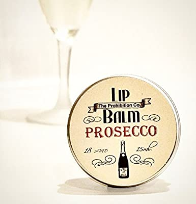 Prosecco Lip Balm by The Prohibition Co. 15ml Tin from Half Ounce Cosmetics