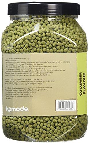 Komodo Complete Holistic Tortoise Diet Cucumber 4