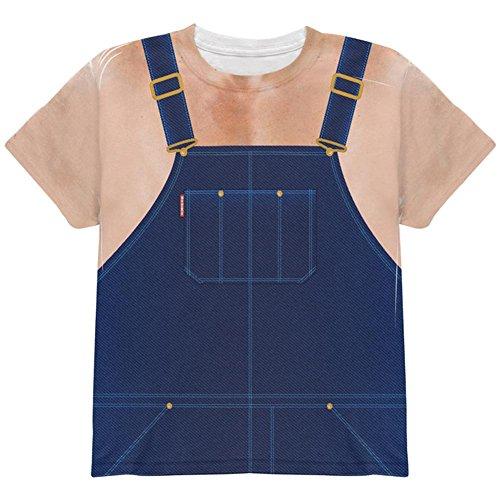 Kostüm Halloween Hillbilly Redneck ganzen Jugend T Shirt Multi YLG (Redneck Kostüme Für Halloween)