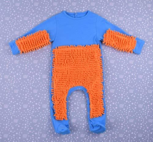 CHRRI Baby Romper, Kinder-MOP Jumpsuit Baumwollmantel Junge Mädchen Krabbeln Kostüm,K,80Cm (Mops Lustig Kostüme)