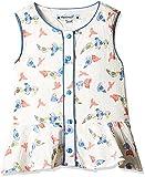 #3: Nauti Nati Baby Girls' Blouse (NSS16-817_White and Blue_12-18M)