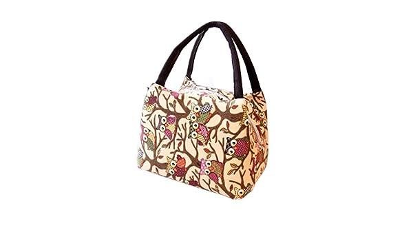Color/é TM Sac Repas Lunch Bag Sac /à D/éjeuner Sac Fra/îcheur Portable Isotherme