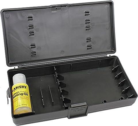 Lansky Sharpeners LB700 Custom Carry Case with 1 oz Bottle of Oil