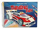 Depesche 10300 - Malbuch Monster Cars Tuning Fun