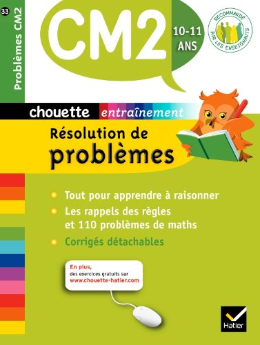 Chouette - Résolution de problèmes CM2