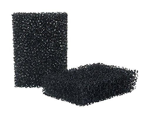 Eulenspiegel 490204  - Bart-Stoppel-Schwamm - 2 Stk. - ca. 5,5 x 4,0 x 1,5 cm -