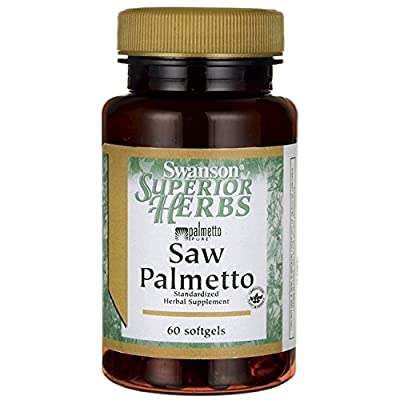 Swanson Superior Herbs - Saw Palmetto 320mg, 60 Softgels by Swanson Health Products
