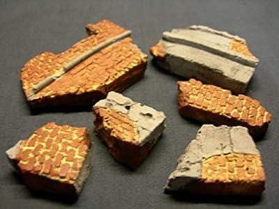Mauerfragmente, Maßstab 1:35, 100-g-Tasche von FoG models