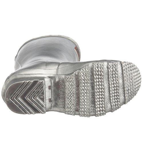 Hunters Original W23500 Unisex-Kinder Gummistiefel Silber (Silver)