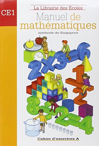 Manuel de mathématiques CE1 : Cahier d'exercices A par Thierry Paillard