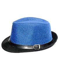 Alvaro castagnino Blue/Black Men Fedora Hats
