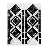 Paris Prix Stick'N Look - Sticker Carrelage Frise 12x30cm Noir