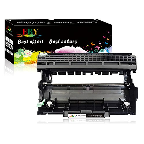 EBY tamburo compatible per Brother DR-2300 DR2300 (nero) per stampante Brother DCP-L2500D,DCP-L2520DW,DCP-L2540DN, DCP-L2560DW,MFC-L2700DW,MFC-L2720DW, MFC-L2740DW, HL-L2300D, HL-L2320D,HL-L2340DW,HL-L2360DN,HL-L2360DW,HL-L2365DW,HL-L2380DW