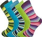 Mysocks® 5 paires de chaussettes pour hommes, Coton peigné, conçu, ...