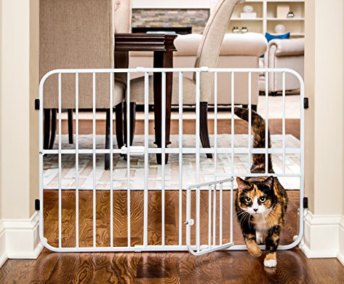 Carlson Gates Carlson Tuffy Expandable Pet and Baby Gate, Pressure Mount