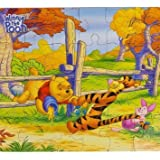 Disney Winnie the Pooh 24 Piece Puzzle ~ Stuck in the Fence by Disney