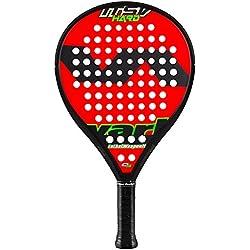 Varlion LW H Itsv Hard Pala Pádel de Tenis, Unisex Adulto, Rojo / Verde, L