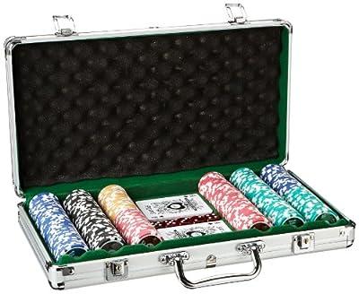 Piatnik - 7903 - Jeu de Société - Malette de Poker - 300 Jetons High Gloss