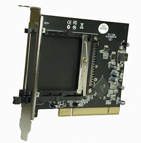 SCM PC-Card GmbH ICS-C1C - 1 Slot PCI zu PCMCIA Adapter für 16 bit PCMCIA, Speicherkarten und 32bit Cardbus Karten -