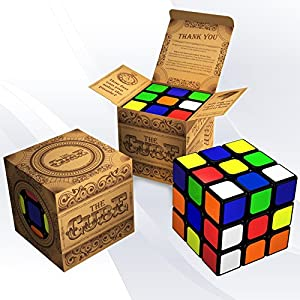 The Cube: Turns Quicker and More Precisely Than Original Rubiks; Super-durable With Vivid Colors; Best-selling Rubix Speed Cube; 100% Money Back Guarantee!