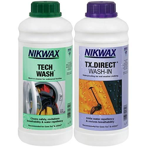 Nikwax Tech Wash, Waschmittel für wasserabstoßendes Textil -