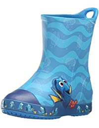 Crocs Bump It FindingDory Boys Boot In Blue