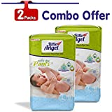 Little Angel Baby Diaper Pants, Large (2 X Pack of 48 Pcs)
