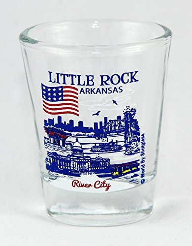 Little Rock Arkansas Great American Cities Collection Shot Glas