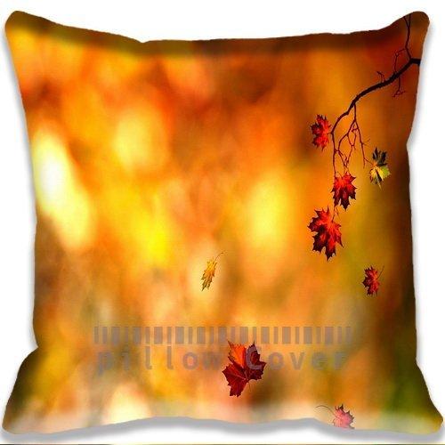 nature Awesome Autumn Leaf Cushion Cover Home