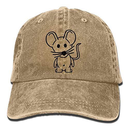 Buffalo Plaid Red Black Moose Denim Hat Adjustable Funny Baseball Cap Top Plaid Wool Cap