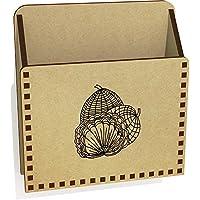 Azeeda 'Patterned Shapes' Wooden Letter Holder/Box (LH00034032)