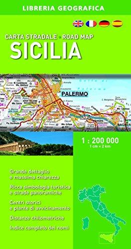 Sicilia 1:200.000 (Carte stradali regionali d'Italia)